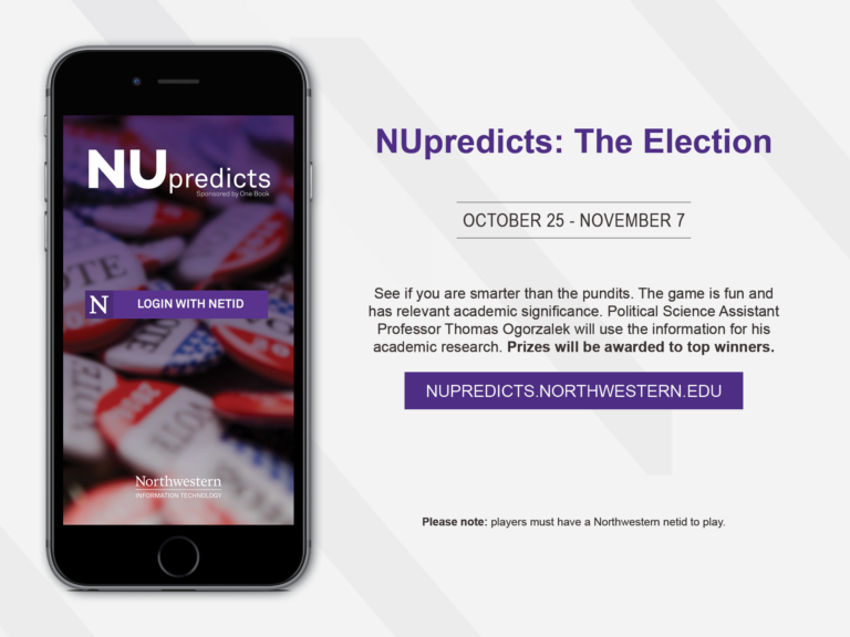 NU Predicts: The Election