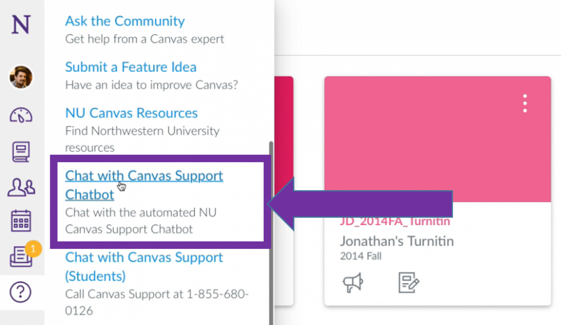 Finding the Canvas Support Chatbot