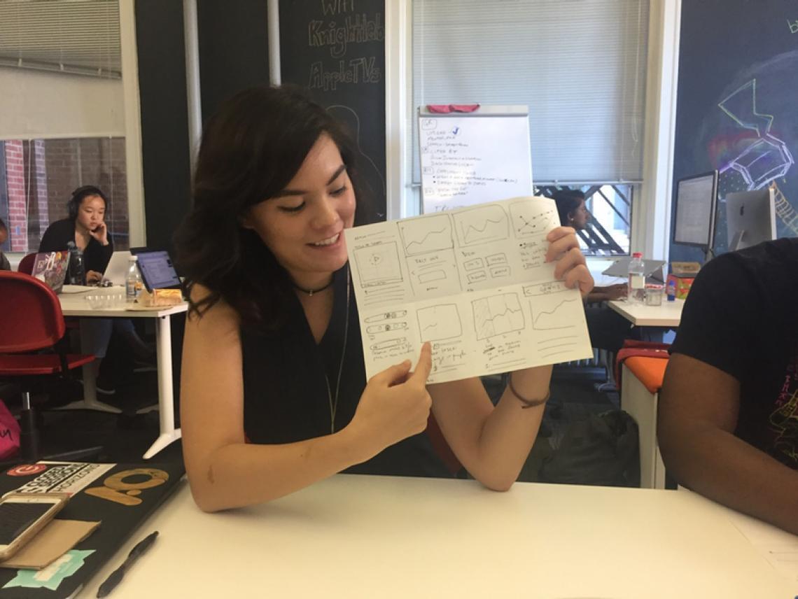 Virginia Showing Storyline Sketch