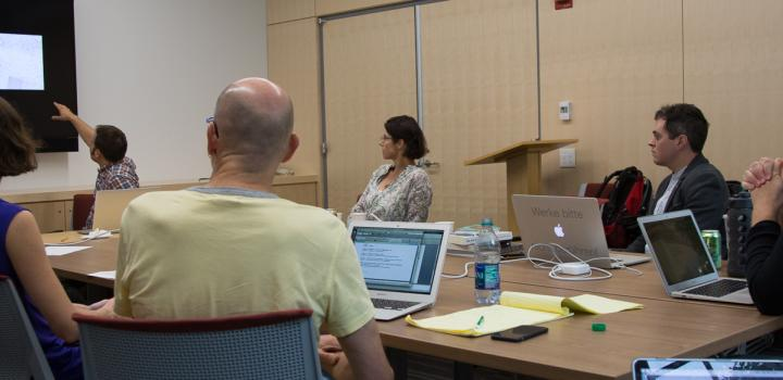 Digital Humanities Summer Faculty Workshop