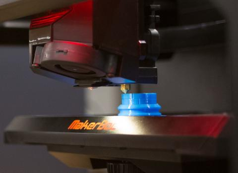 3-D printing at The Garage