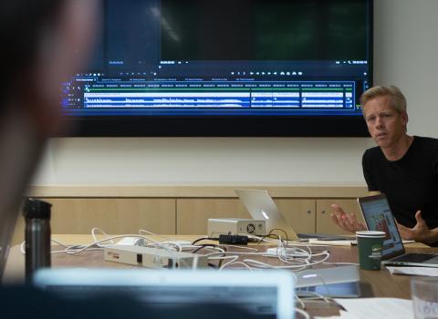 Weinberg Media & Design Director John Bresland