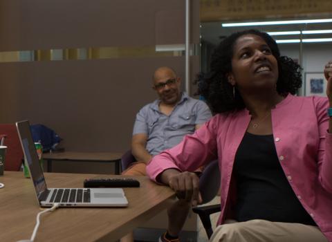 Digital Humanities Fellows at Summer Workshop