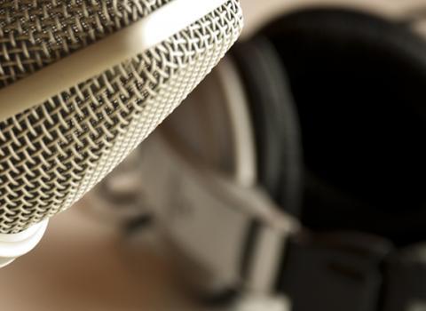 Northwestern University Device Lab Podcast Studio