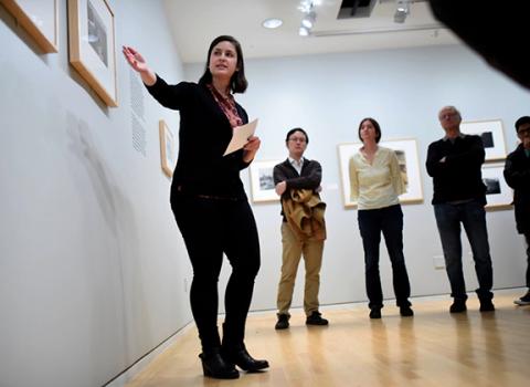 Art showcased at the Block Museum