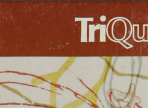 Old cover of TriQuarterly from Spring 1982