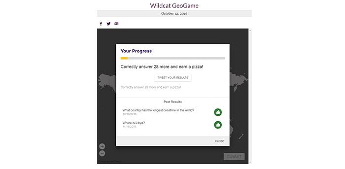 Wildcat GeoGame