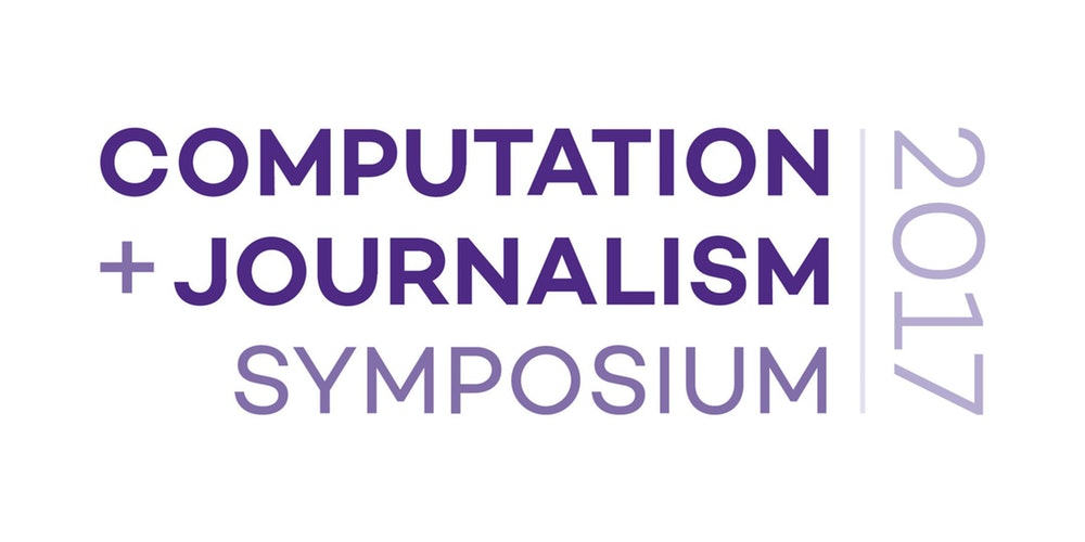 Computation + Journalism 2017 Symposium