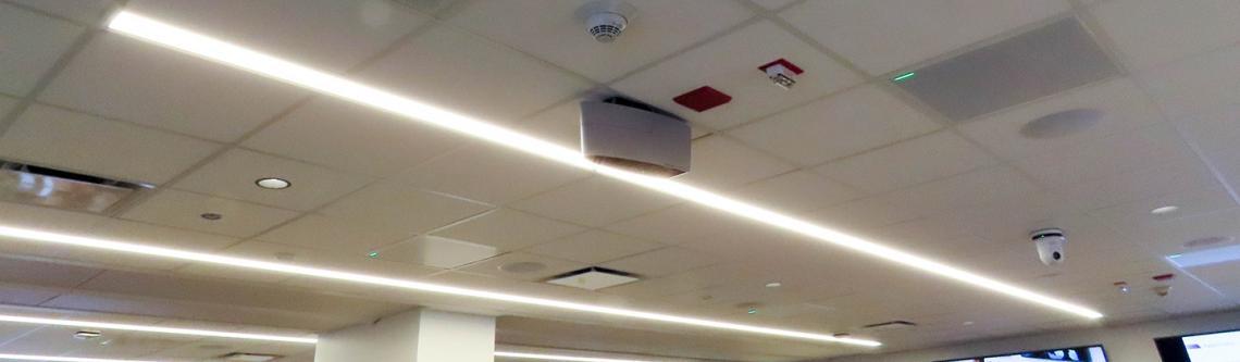 Ceiling mics