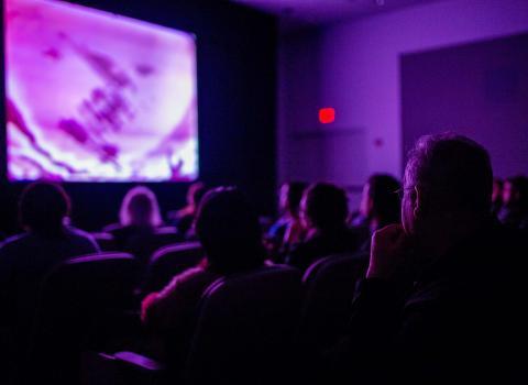 Film screening at Block Museum