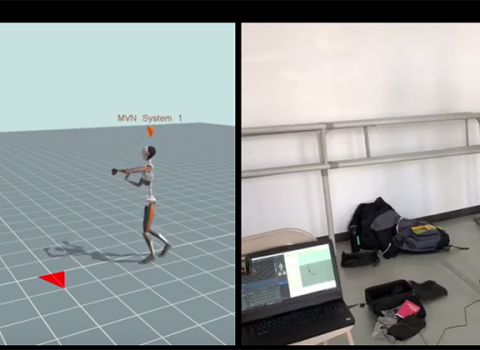 Virtual reality capture of dancers