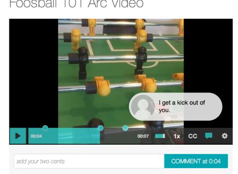Arc Video Notation