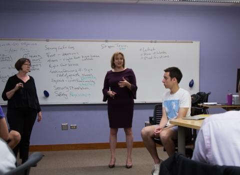McCormick instructors teaching a class
