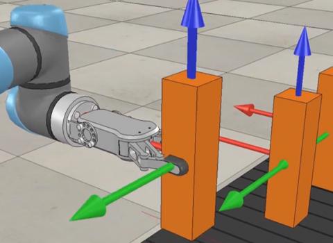 V-REP Simulator, Coppelia Robotics